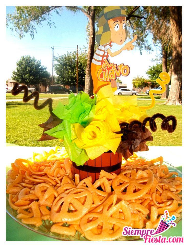 Ideas para fiesta de cumpleaños con los personajes de el Chavo del 8. Encuentra todos los artículos para tu fiesta en nuestra tienda en línea: http://www.siemprefiesta.com/fiestas-infantiles/ninas/articulos-el-chavo-del-8.html?utm_source=Pinterest&utm_medium=Pin&utm_campaign=Chavo8
