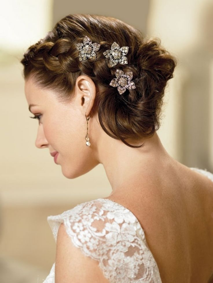 Hairstyles For A Summer Wedding : 1607 best wedding images on pinterest