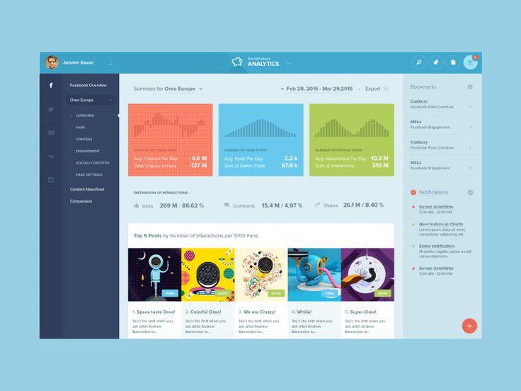 Socialbakers Analytics [concept]