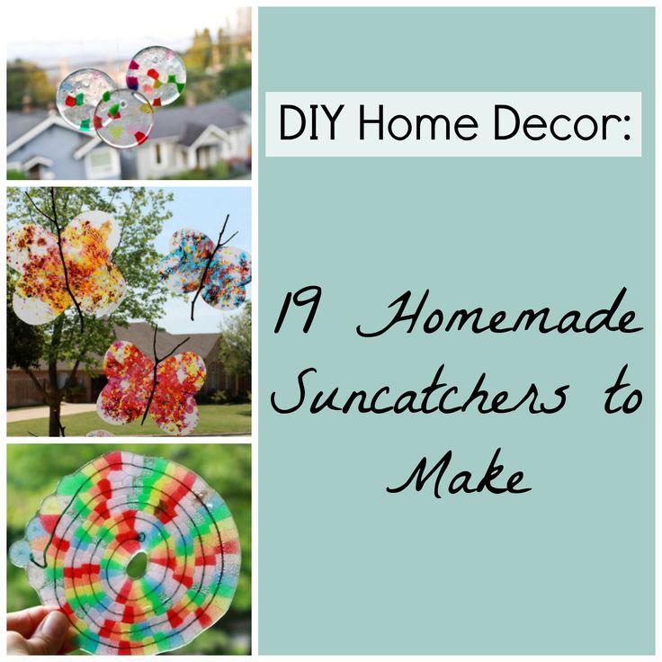 Diy Home Decor 19 Homemade Suncatchers To Make Diy Wind
