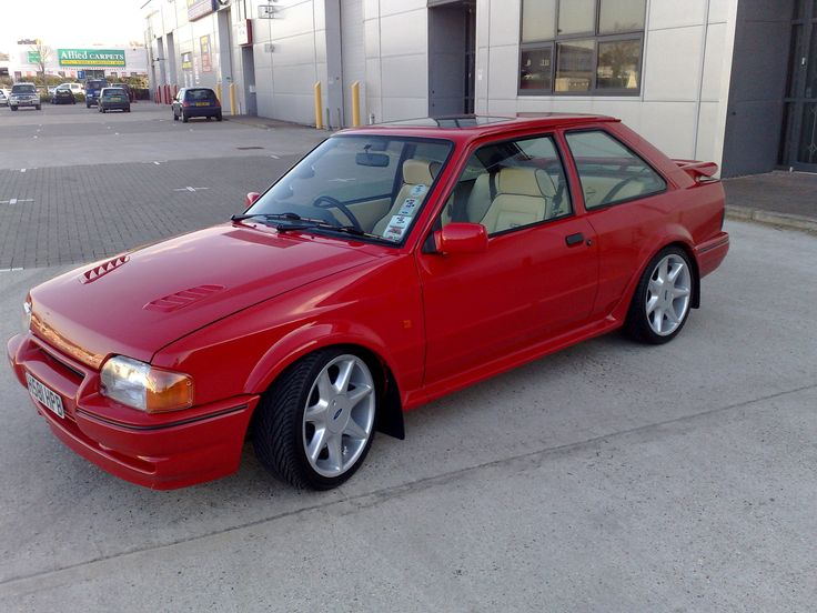 1990 Ford Escort Mk4 RS Turbo