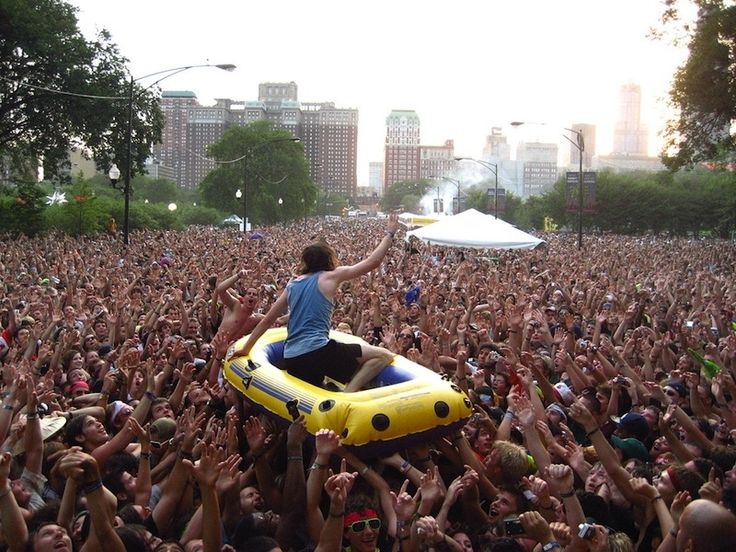 Music Festivals I MUST go to one day. Including: Lollapalooza, Coachella, Bonaroo, and more.