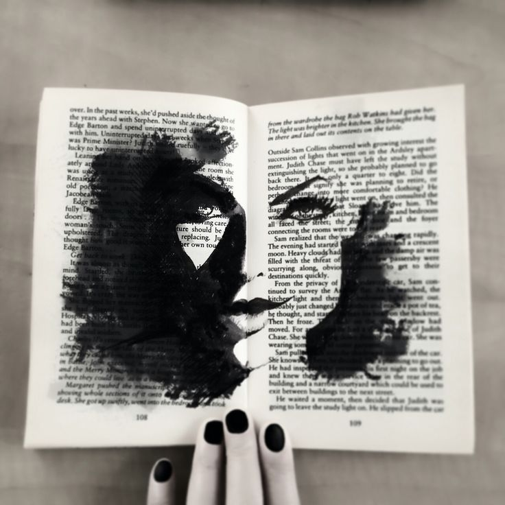 Old book recycled - Claire.H artwork