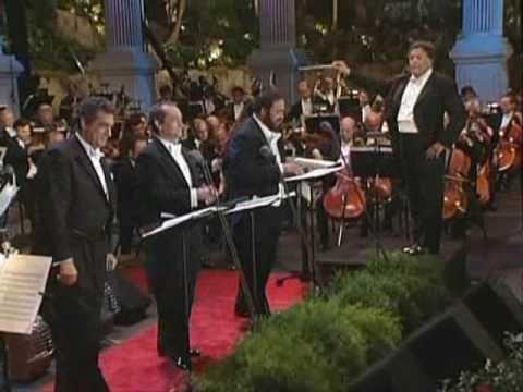 La Donna e mobile - Three tenors - Pavarotti, Domingo, Carreras
