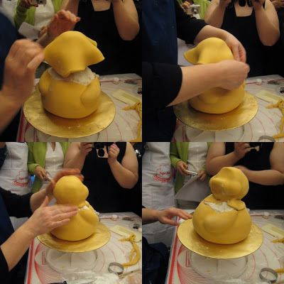 """Our final day! We started off with a surprise demo of """"Winnie The Pooh Bear"""" using real cake by Debbie. Once again, she managed to make it l..."""
