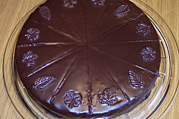 Sachertorte recipe in german the bestest i've ever found and managed to not mess up ;)