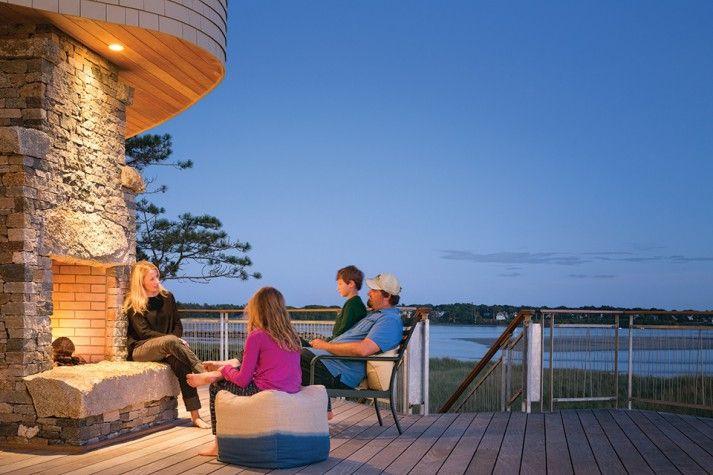 Dune Dream - Maine Home + Design   Contemporary beach ... on Dune Outdoor Living  id=97305