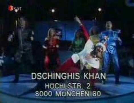 Dschinghis Khan - Moskau - YouTube- Komm wir tanzen auf dem tisch bis der Tisch zusammenbricht ha ha ha ha ha!