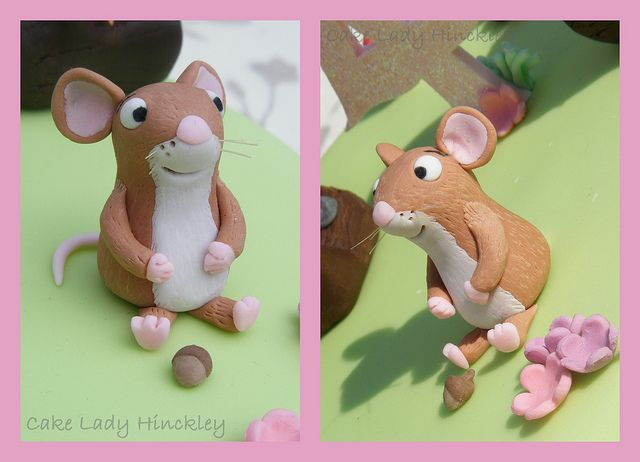 Cake Lady Hinckley - Mouse - My Daughters Gruffalo Cake by Cake Lady Hinckley_Life_is_delicious (Stacy), via Flickr