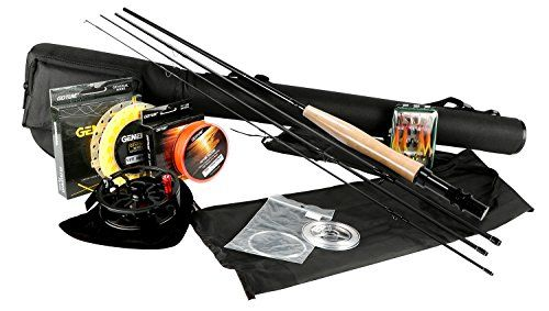 Goture Fly Fishing Rod and Reel Combos Fit Saltwater Freshwater 5/6 and 7/8 for Beginner and angler with Fly Line Fly Lures Full Kit with Rod Case - Updated! Classic 5-6 without cork butt cap  http://fishingrodsreelsandgear.com/product/goture-fly-fishing-rod-and-reel-combos-fit-saltwater-freshwater-56-and-78-for-beginner-and-angler-with-fly-line-fly-lures-full-kit-with-rod-case/?attribute_pa_color=updated-classic-5-6-without-cork-butt-cap  The contents of the package: A 9 fee