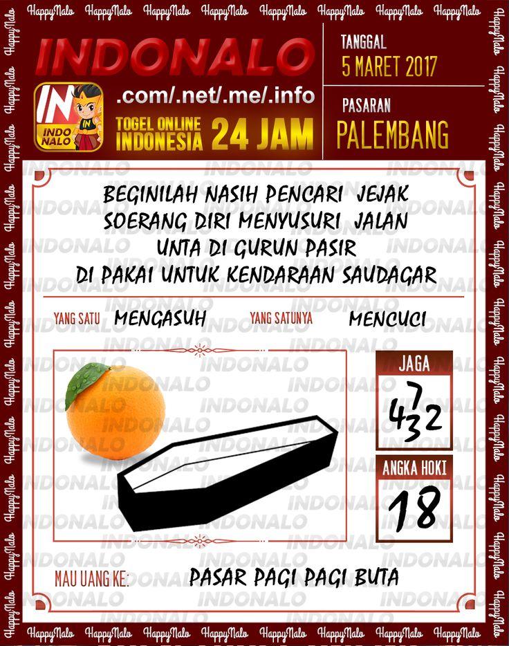 Prediksi 6D Togel Wap Online Indonalo Palembang 5 Maret 2017