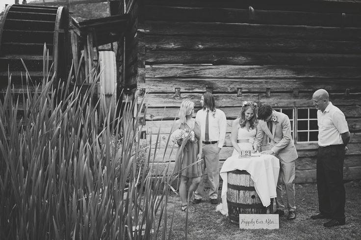 Grist Mill & Gardens Wedding