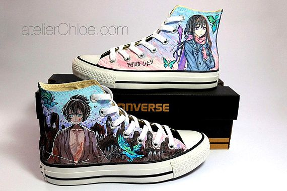 Casual Paint Stylish Colorful Designer converse shoes