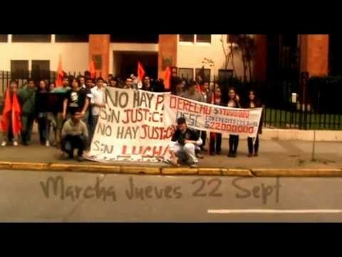 Marcha Jueves 22Sept