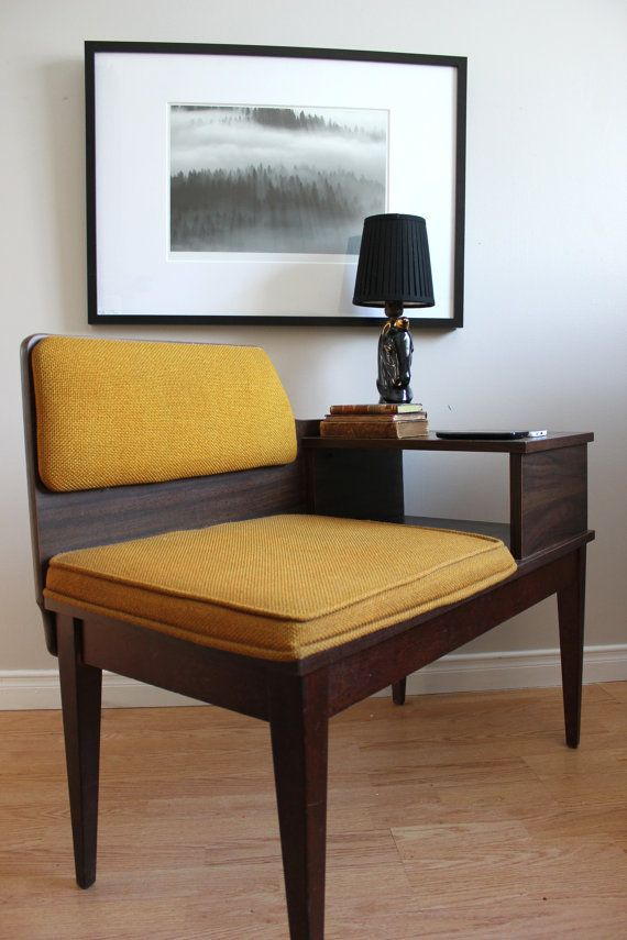 Retro Telephone Table // Vintage Antique by FourthWallInteriors - 38 Best Telephone Table / Gossip Bench Images On Pinterest