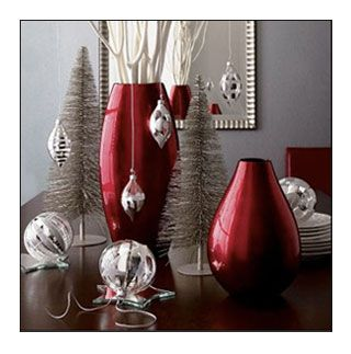 I Really Like Hanging Things For Decorations Find This Pin And More On Sofa Table Christmas