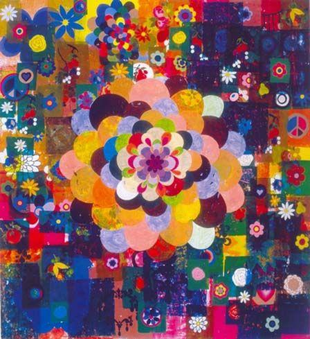 """Sol de Londres"", de 2003 de Beatriz Milhazes"