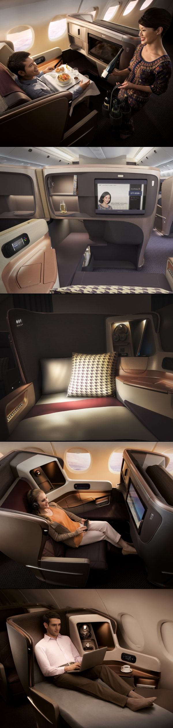 Singapore Airlines Next Generation B777-300ER Business Class Cabin & Seat The bar has been raised again for Business Class air travel, as Singapore Airlines and JPA Design launch their stunning Next Generation Business Class cabin, including a bespoke luxury Business Class seat