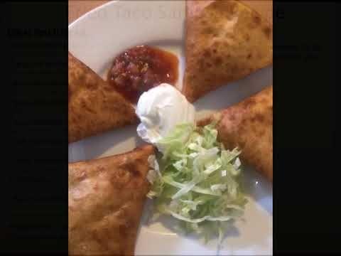 Fried Taco Samosas with recipe - YouTube