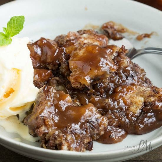 McCarty's Gallery Restaurant Chocolate Cobbler has a buttery, tender crust & decadent chocolate sauce. This is a simple dessert that's easy as 1 2 3.