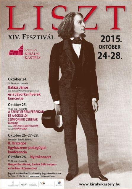 Plakát104: XIV. Liszt Fesztivál Gödöllőn