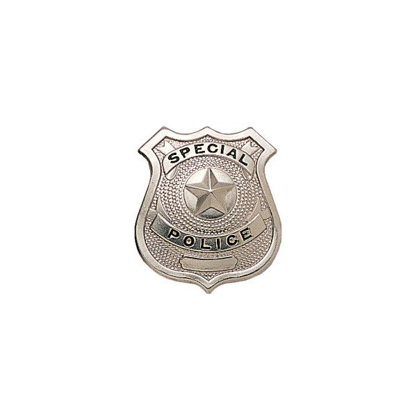 Silver SPECIAL POLICE Pin-On Badge (65 SEK) ❤ liked on Polyvore featuring jewelry, brooches, pin jewelry, police jewelry, silver jewelry, pin brooch and silver jewellery