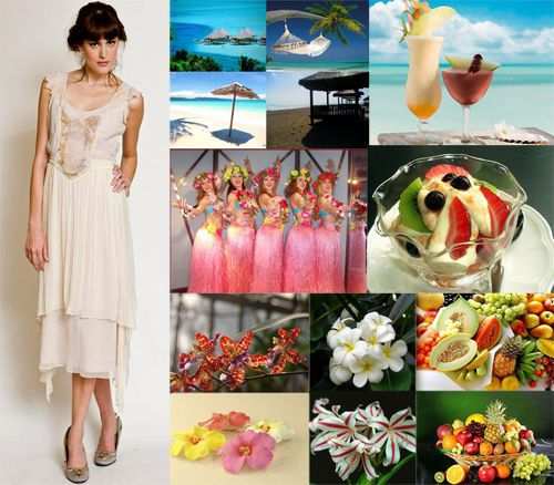 Best Vintage Inspired Ideas For Weddings Tropical