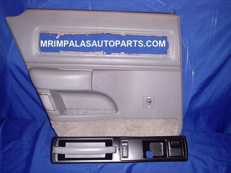 94 95 96 Impala SS Door panel left rear GRAY    One left rear side,driver side door panel for 94-96 Impala ss.    Will fit 91-96 Caprice and Impala SS,but correct color GRAY for 94-96 models.