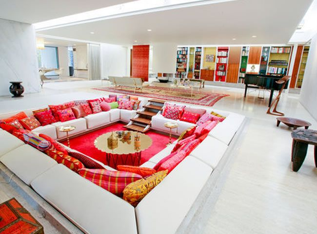 Best 25 Sunken Living Room Ideas On Pinterest Sunk In