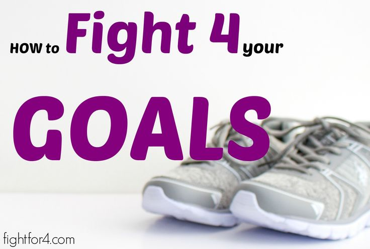 Learn how to fight for your goals in 5 easy steps. Reaching Fitness Goals have always been a struggle for me. My husband has taught me how to set...