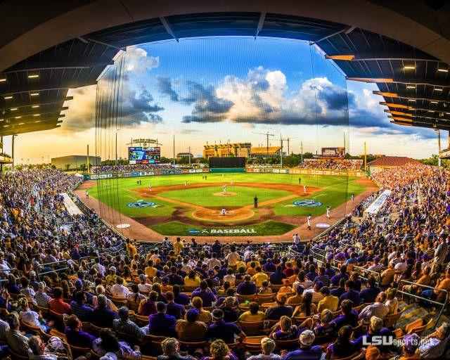 Alex Box Stadium Home of The LSU Tiger Baseball Team 💜🐯⚾️💛