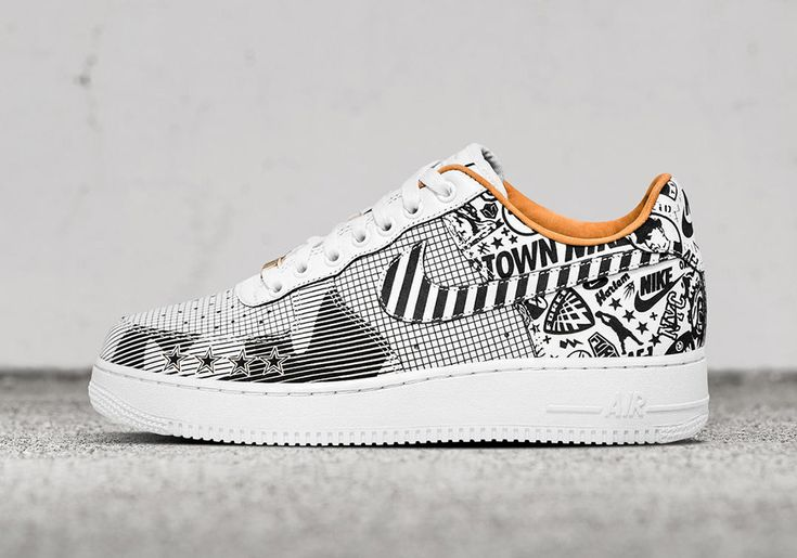 #sneakers #news  Nike SoHo To Release 2 Exclusive Laser-Etched Nike Air Force 1 NYC Pairs
