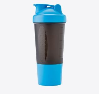 Promotional Protein Shaker With Maze Ball Mixer 500ml