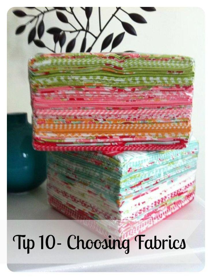 Tip 10- Choosing Fabrics