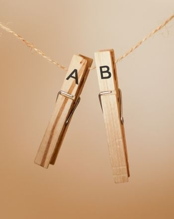 Create a Clothespin Alphabet (Dye pins with Rit dye first for a more colorful activity.)