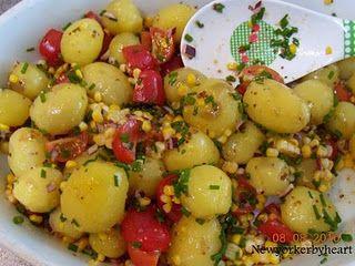 Hakkebøf med kartoffelsalat og grillet squash (BoligLiv nr. 8/2010)……..