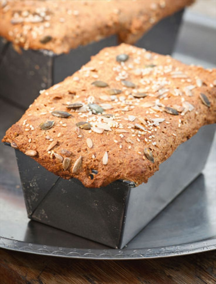 Seeded spelt bread recipe from Good Good Food by Sarah Raven | Cooked