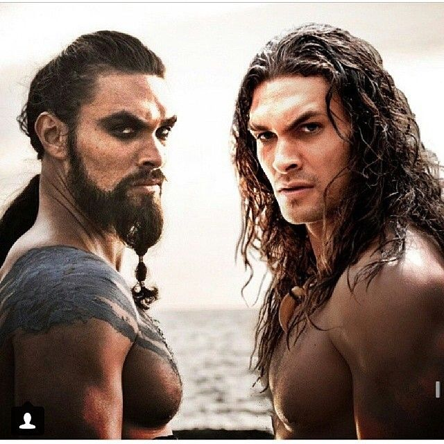 Pin for Later: Can You Make It Through 23 Shirtless Jason Momoa Photos Without Passing Out? Double the Jason means double the fun.