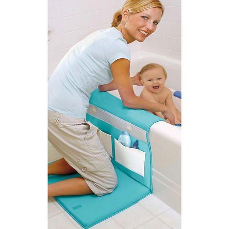 The Bathtime Easy Kneeler - making bathtime a little easier on your knees!