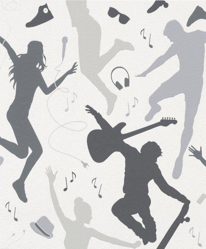 MUZIEK BEHANG - Rasch Kids & Teens 458619