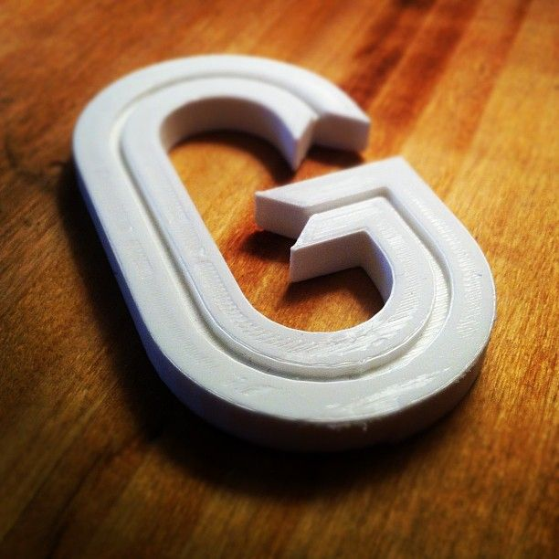 3d printed Ribbon G