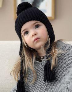 Modèle bonnet péruvien fille
