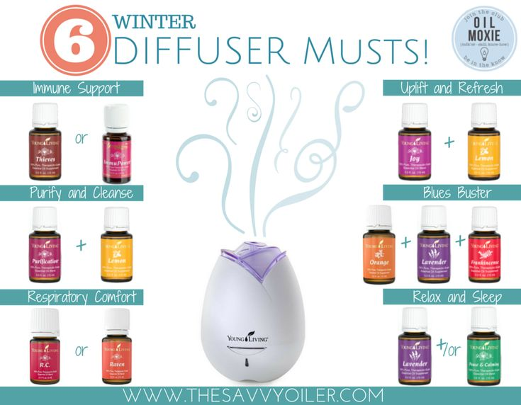 6 Winter Diffuser Musts! | The Savvy Oiler
