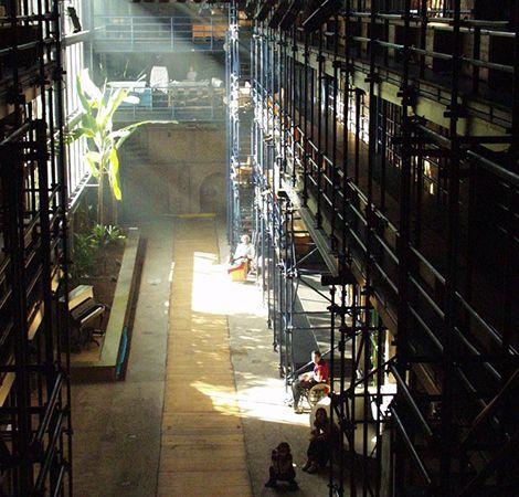 Espaço do Teat(r)o Oficina. Foto: Divulgação.