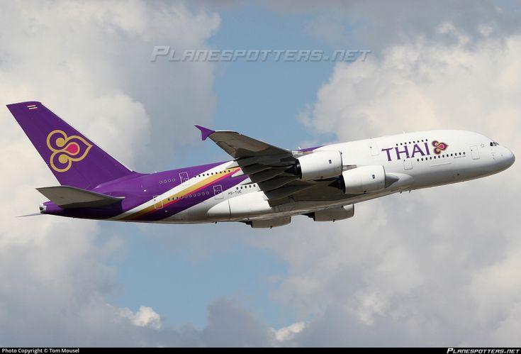 HS-TUE Thai Airways International Airbus A380-841