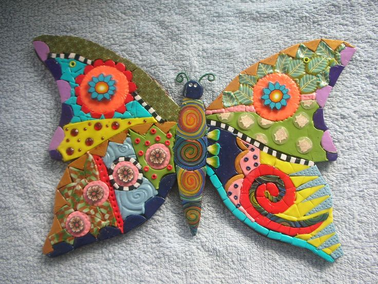 Butterfly   I made it with polymer clay and was inspired by …   Flickr