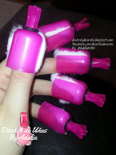 Very useful UV Gel nail polish remover tool! You can see the introduction here>>http://disenosdeunas.blogspot.com/2015/07/resena-clips-para-remover-acrilico.html