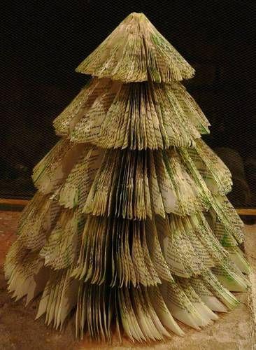 Boeken kerstboom.