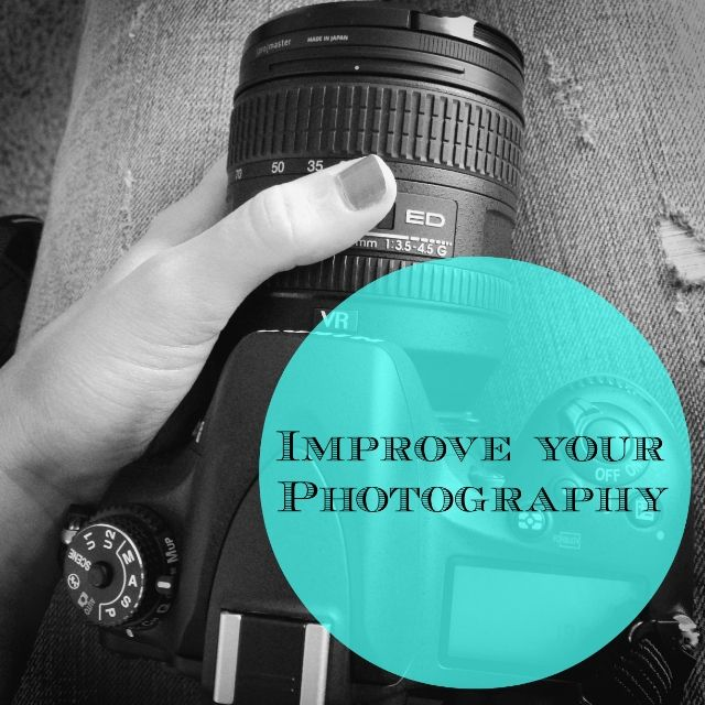 Ways to improve your #photography! These tips and tricks work for DSLRs and point and shoot cameras.