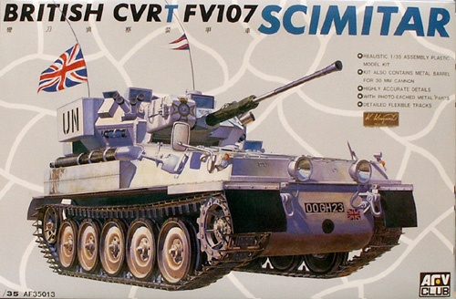 AFV CVRT FV107 Scimitar. 1:35 Scale. | Hobbies